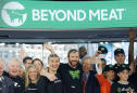 Beyond Meat fattens up as shares more than double in IPO