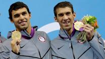 U.S. swimmer's name will be etched in history