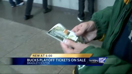 Bucks' playoff tickets go on sale
