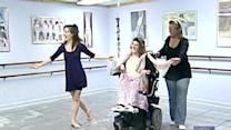 Woman Overcomes Disability To Learn How To Dance