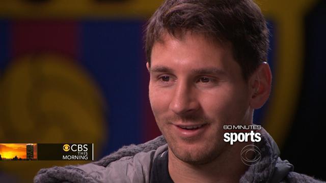 Lionel Messi gives rare interview on