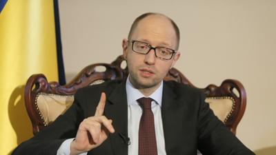 Ukraine PM: Crimea Situation Resembles 'coup'