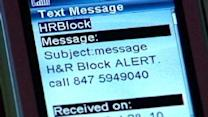 Text Scam Targets H&R Block Customers