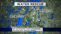 Man, 50, And Grandson Pulled From Icy Lake Near Alexandria