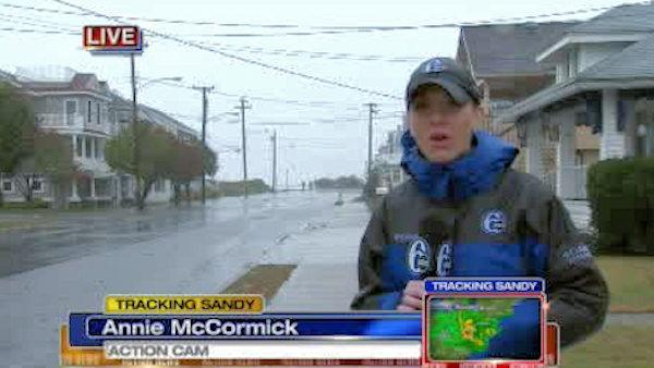 Annie McCormick reports from Wildwood Crest, NJ