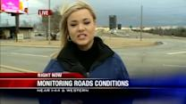 Residents prepare for winter weather road conditions