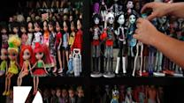 Man Has 6,000 Barbie Dolls