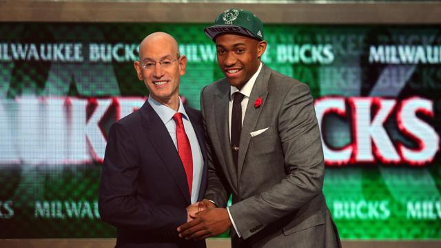 Bucks select Parker with No. 2 pick