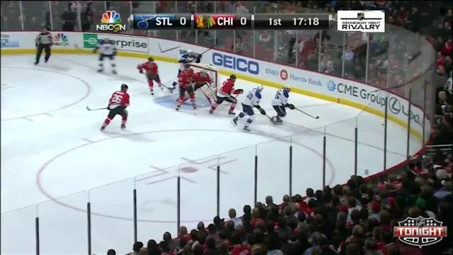 St. Louis Blues at Chicago Blackhawks - 03/19/2014