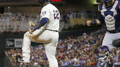 Miguel Sano takes frustration out on bat Bo Jackson-style