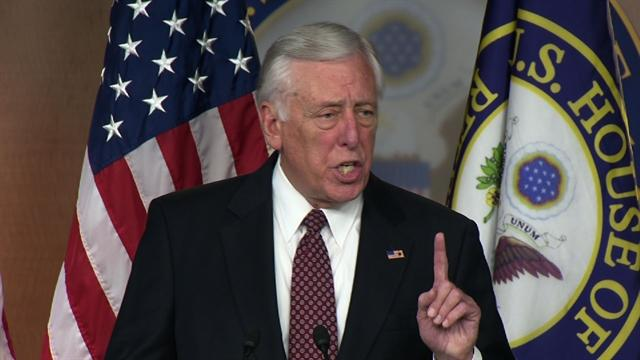 Hoyer blasts House GOP leaders for absence