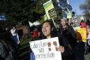 Oakland teachers walk off the job in latest teacher strife