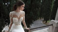 Fall in Love With Lace Sleeve Wedding Dresses