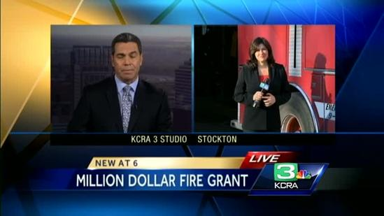 Stockton gets federal money for new fire engines