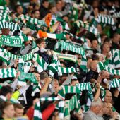 Celtic fans raise funds for Palestinian charities