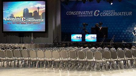 Senate haunts Tory convention
