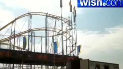 Preparations Made, Rides Assembled For State Fair