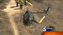 No Injuries After Helicopter Crash-Lands in Griffith Park