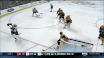 Seidenberg makes a great kick save