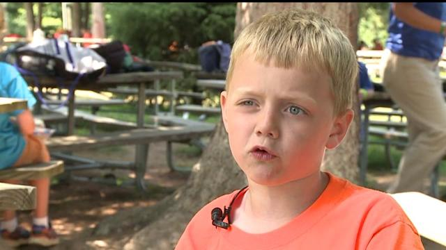 8-Year-Old Raises $10K to Buy Police Bullet Proof Vests