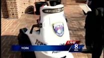 Electric vehicle donated to York police