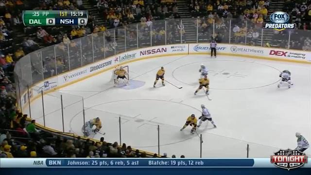 Dallas Stars at Nashville Predators - 01/20/2014