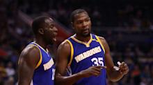 Kevin Durant hasn't made the Warriors' Death Lineup better ... yet
