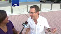 Food Network`s Ted Allen on the Taste of Chicago