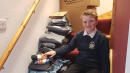 11-Year-Old Collects 1,500 Pairs Of Socks For Home