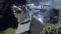 Raw: Small Plane Crashes Into Indiana Home