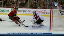 Charlie Coyle scores two goals in 40 seconds