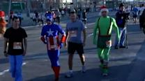 Record number take part in Thanksgiving Day Race