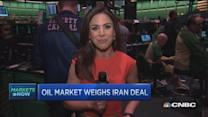 Oil market weighs Iran deal