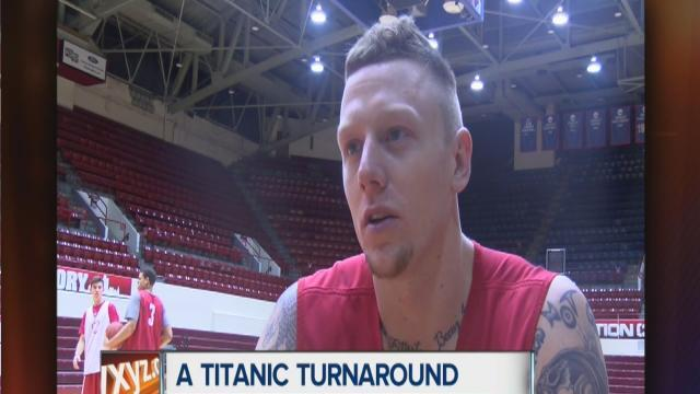 Detroit's Nick Minnerath leading Titans after triumphing over hard times