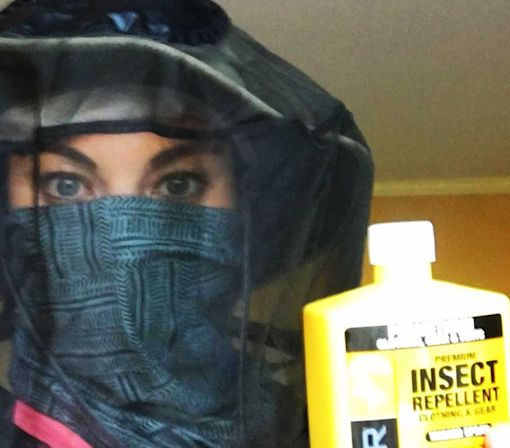 Hope Solo shows everyone how she plans to beat the Zika virus in Brazil