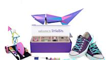Thought Legos were fun? Give their electronic cousin littleBits a try