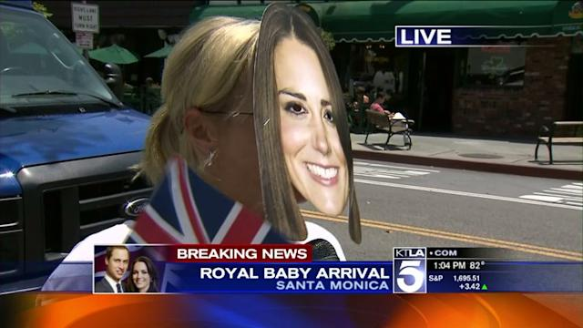 Royal Baby: British Expats React in Santa Monica