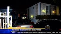 Man stabbed to death after fight inside apartment