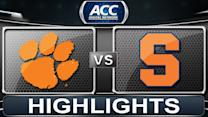Clemson vs Syracuse | 2013 ACC Football Highlights