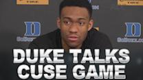 Duke Players Talk Huge Matchup With Syracuse On Saturday