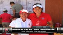 Mountain West Golfers of the Month