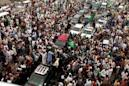 Thousands attend events for ousted Pakistani prime minister Sharif