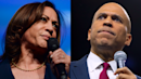 Cory Booker says 'it's a damn shame' that Kamala Harris suspended campaign