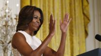 Michelle Obama Tackles Junk Food Ads in Schools