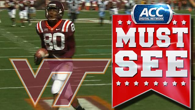 Virginia Tech's Logan Thomas Goes Deep To Demitri Knowles For TD | ACC Must See Moment