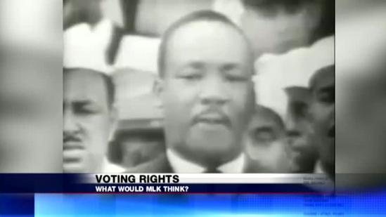What would MLK say about Voter I.D.