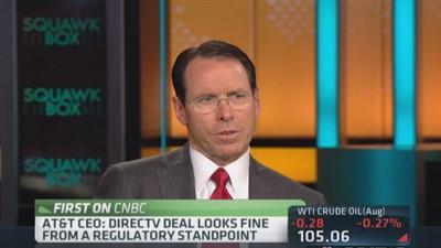Satellite technology 'elegant and efficient': AT&T CEO