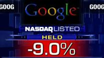 Google delivers 3Q letdown early, stock plummets