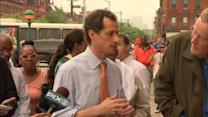 Anthony Weiner holds first campaign event