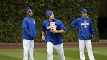 Kyle Schwarber not medically cleared to play field as World Series moves to Wrigley